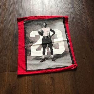 Red Jordan Tube Top